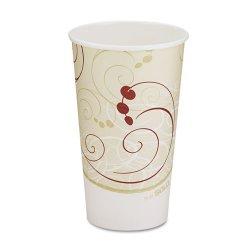 Solo Cup - 316SM-J8000 - 16 oz. Disposable Hot Cup, Paper, White, PK 1000
