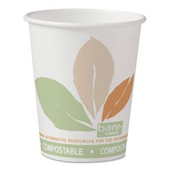 Solo Cup - 370PLA-J7234 - 10 oz. Disposable Hot Cup, Paper, White, PK 1000