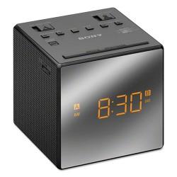 Sony - ICFC1TBLACK - Sony Clock Radio - 100 mW RMS - Mono - 2 x Alarm - AM, FM