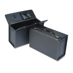 Stebco - 251322BLK - STEBCO Collection Tufide Classic Catalog Case, 22-1/4 x 8-3/4 x 13-1/2, Black