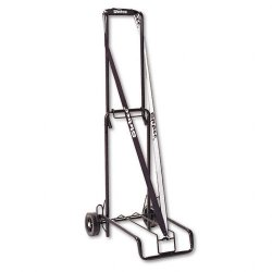 Stebco - 390002BLK - Luggage Cart, 125lb Capacity, 13 x 10 Platform, Black Steel