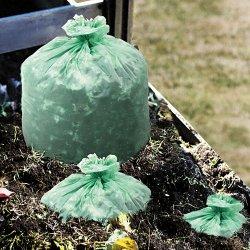 Stor-A-File - E3348E85 - EcoSafe-6400 Compostable Compost Bags, .85mil, 33 x 48, Green, 50/Box