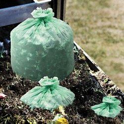 Stor-A-File - E4860E85 - EcoSAfe-6400 Compostable Compost Bags, .85mil, 48 x 60, Green, 30/Box