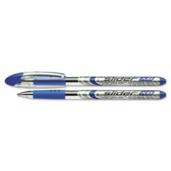 APC / Schneider Electric - 151003 - Schneider Slider Ballpoint Stick Pen, .7mm, Blue, 10/Box