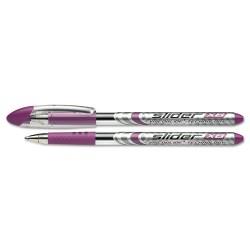 APC / Schneider Electric - 151208 - Schneider Slider Ballpoint Stick Pen, 1.4mm, Purple