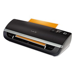 Swingline - 1703086 - Fusion 5100XL Laminator Plus Pack with Ext Warranty and Pouches, Black/Silver