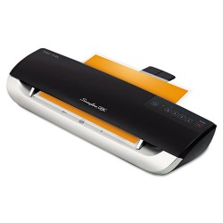 Swingline - 1703088 - Fusion 3100XL Laminator Plus Pack with Ext Warranty and Pouches, Black/Silver