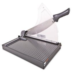 Swingline - 98150 - Heavy-Duty Low Force Guillotine Trimmer, 40 Sheets, Metal Base, 10 1/2 x 17 1/2