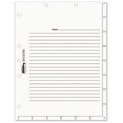 Tabbies - 54520 - Medical Chart Index Divider Sheets, 8-1/2 x 11, White, 400/Box