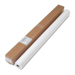 Tablemate - LS4050WH - Tablemate Nonwoven Fabric Table Roll - 50 ft Length x 40 Width - 1 Each - Polyester - White