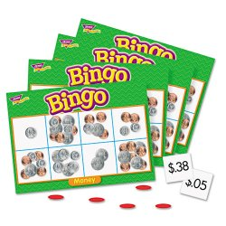 Trend Enterprises - T6071 - Trend Money Bingo Games - Theme/Subject: Learning - Skill Learning: Early Skill Development