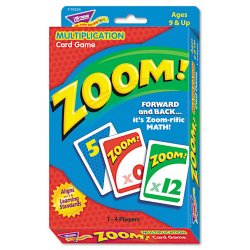 Trend Enterprises - T76304 - Trend Zoom Multiplication Learning Game - Educational - 1 to 4 Players