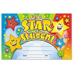 Trend enterprises t17006 colorful classic certificates preschool