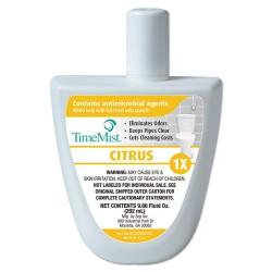 TimeMist - TMS 1047940 - Virtual Janitor Refill, 1.55 oz Bottle, Citrus, 6/Carton
