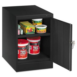 Tennsco - 1824BK - Storage Cabinet, Black, 30 Overall Height, Assembled
