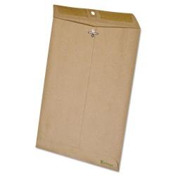 Tops - 19705 - Ampad Envelope - Document - 9 Width x 12 Length - 60 lb - Clasp/Gummed Flap - Paper - 110 / Box - Natural Brown
