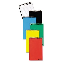 Tops - 074319115205 - Wirebound Pocket Memo Book, Narrow, 3 x 5, White, 60 Sheets, 3/Pack