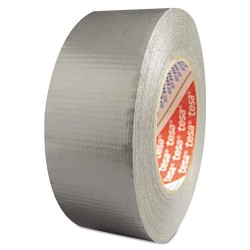Tesa Tape - 744-64613-09001-00 - Utility Grade Duct Tape, 2 x 60yd, Silver