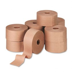 United Facility Supply - UFS44HD007 - Reinforced Kraft Sealing Tape, 3 x 450ft, Brown, 10/Carton