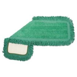 Unisan - UNS MFD245-GF - Microfiber Dust Mop Head, 24 x 5, Green, 12/Carton