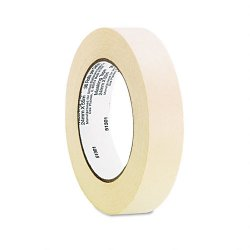 "Universal Office Products - 51301 - General Purpose Masking Tape, 1"" x 60yds, 3"" Core, 3/Pack"
