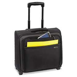 Classic Luggage / Sterling & Burke - CLA901-4 - Pro Rolling Overnighter Case, 16, 15 1/2 x 8 x 11, Black