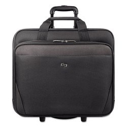 Classic Luggage / Sterling & Burke - CLS9104 - Classic Rolling Case, 17.3, 16 3/4 x 7 x 14 19/50, Black