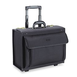 Classic Luggage / Sterling & Burke - PV78-4 - Classic Rolling Catalog Case, 16, 18 x 8 x 14, Black