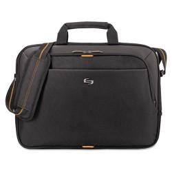 Classic Luggage / Sterling & Burke - UBN101-4 - Urban Slim Brief, 15.6, 16 1/2 x 2 x 11 3/4, Black