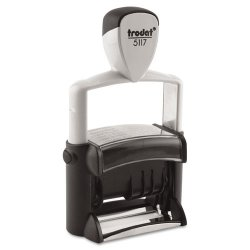 U. S. Stamp & Sign - 5000 - Trodat Professional 12-Message Stamp, Dater, Self-Inking, 2 1/4 x 3/8, Black