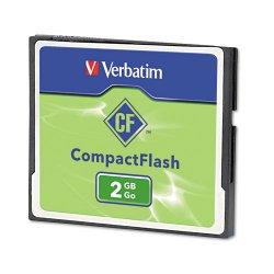 Verbatim / Smartdisk - 47012 - Verbatim 2GB CompactFlash Memory Card - 1 Card/1 Pack