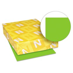 Wausau Papers - 21811 - Color Cardstock, 65lb, 8 1/2 x 11, Martian Green, 250 Sheets