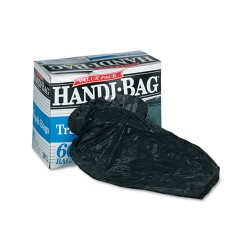 Webster - HAB 6FT60 - Super Value Pack Trash Bags, 30gal, .65mil, 30 x 33, Black, 60/Box