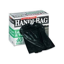 Webster - HAB 6FTL40 - Super Value Pack Trash Bags, 33gal, .65mil, 32.5 x 40, Black, 40/Box