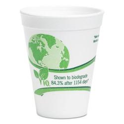 Wincup - 16C18VIO - Vio Biodegradable Cups, Foam, 16 oz, White/Green, 500/Carton