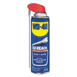 WD40 - 490194EA - Lubricant Spray, 14.4 oz Aerosol Can w/EZ Reach Straw
