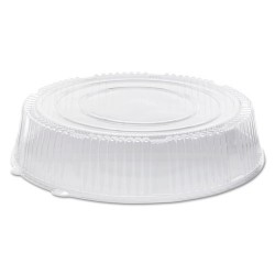 WNA - A18PETDMHI - Caterline Dome Lids, Plastic, 18 Diameter x 3 5/8High, Clear, 25/Carton