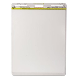 Wizard Wall - EP156PK - Dry Erase Static-Cling Film Easel Pads, 24 x 29, White, 15 Sheets/Pad, 6 Pads/PK