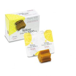 Xerox - 016-2043-00 - Xerox ColorStix Yellow Solid Ink stick For 8200 - Solid Ink - 2800 Page - 1 Box