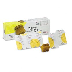 Xerox - 016-2047-00 - Xerox ColorStix Solid Ink Stick - Solid Ink - 7000 Pages - Yellow - 5 / Box