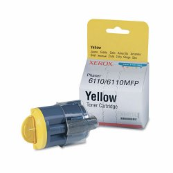 Xerox - 106R01273 - Xerox Original Toner Cartridge - Laser - 1000 Pages - Yellow