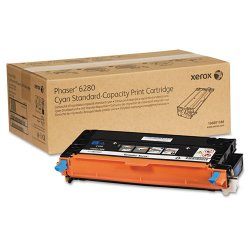Xerox - 106R01388 - Xerox Cyan Toner Cartridge - Laser - 2200 Pages - 1 Each