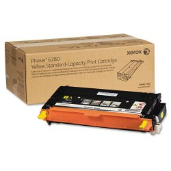 Xerox - 106R01390 - Xerox Yellow Toner Cartridge - Laser - 2200 Page - 1 Each