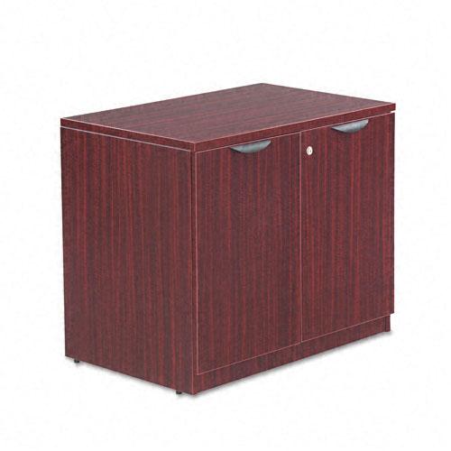 Alera - ALEVA613622MY - Valencia Series Storage Cabinet, 34w x 22 3/4d x 29 1/2h, Mahogany