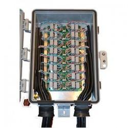 McCown Technology - GIGE-TWR-J-HV - GigE Tower Mount SS w/ Ethernet Jacks-HV