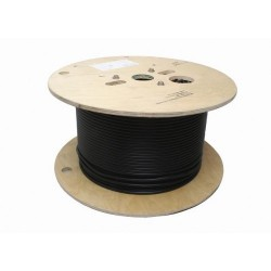 JSC Wire & Cable - 3020-100 BK - JSC Wire 3020 RG8/U Black Coaxial Cable-100 Foot