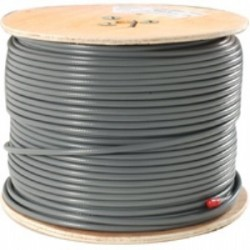 JSC Wire & Cable - 3060-250 GY - JSC Wire 3060 Mini 8 Coax-Gray-250 Foot