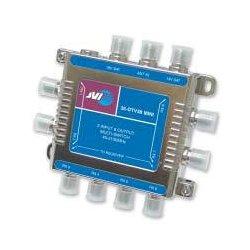 JVI - 35-DTV38MS - JVI 35-DTV38MS 3 x 8 Satellite Multiswitch