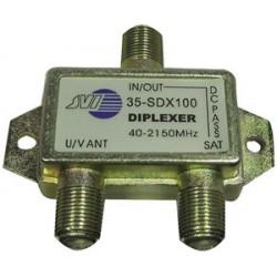 JVI - 35-SDX100 - JVI 35-SDX100 Mini Satellite Diplexer