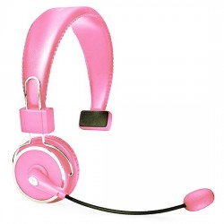 Blue Tiger - BLUE TIGER ELITE LP - Blue Tiger Elite Premium Bluetooth Headset Light Pink
